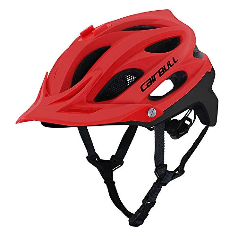 アウトドア休眠光沢のあるGrmeisLemc Cairbull オールセット サイクリング MTB バイク 自転車 安全 成形ヘルメット カメラマウント付き - ブラック