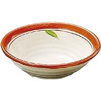 山下工芸(Yamasita craft) 朱巻刺身鉢 16×16×5.5cm 11027210