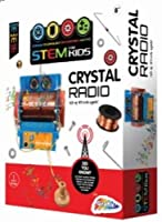 Build Your Own Working Crystal Radio Making Kit Kids Science Toy DIY Kit for Ages 8+