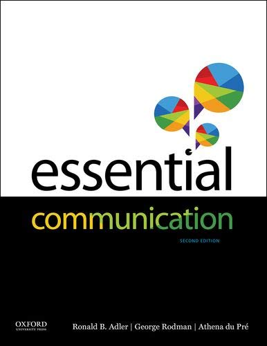 Download Essential Communication 0190650087