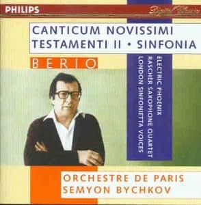 Berio;Canticum Novissimi