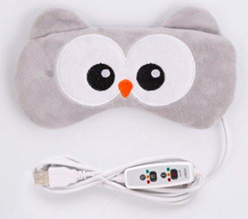 【hkukat】安眠 アイマスク USB電熱式 ホット アイマ...