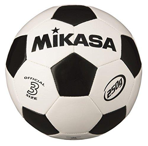 ミカサ ジュニアサッカーボール3号 軽量球 白/黒 SVC303-WBK