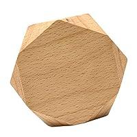 D DOLITY ジュエリーディスプレイブロック 木製 ジュエリーディスプレイ ウッド ジュエリースタンド 全4種類 - 木材小