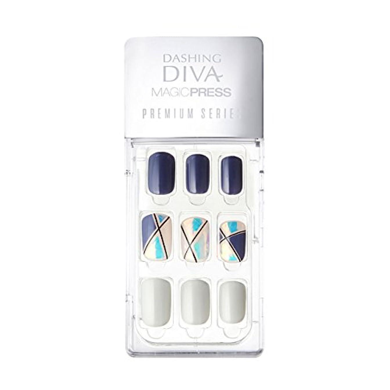 上下する罪緩むダッシングディバ マジックプレス DASHING DIVA MagicPress MPR056-DURY+ オリジナルジェル ネイルチップ