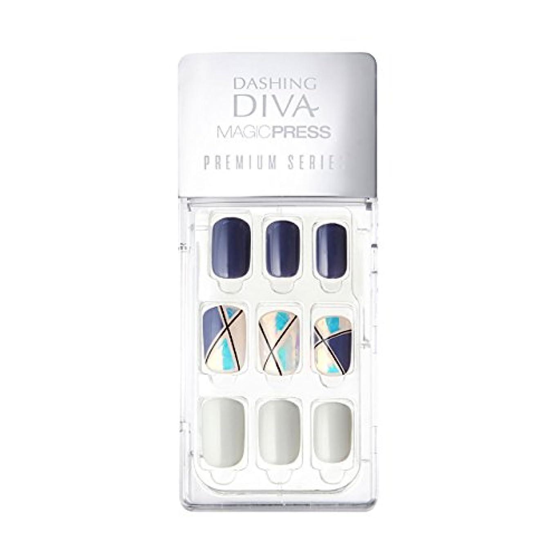 さらに人類最悪ダッシングディバ マジックプレス DASHING DIVA MagicPress MPR056-DURY+ オリジナルジェル ネイルチップ