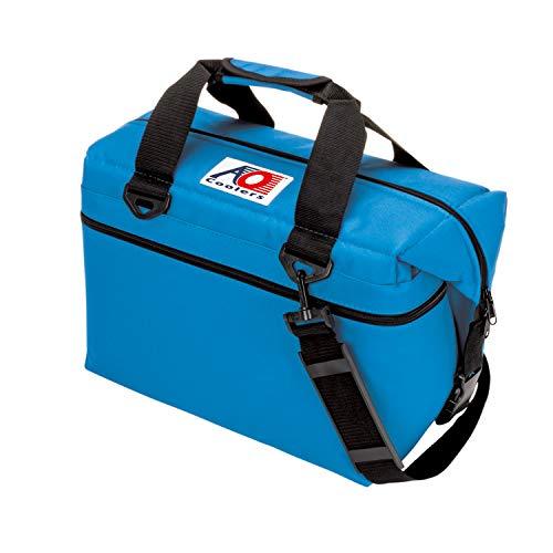 AO Coolers(エーオークーラー) キャンパス ソフトクーラー 24パック ブルー AO24RB (日本正規品)
