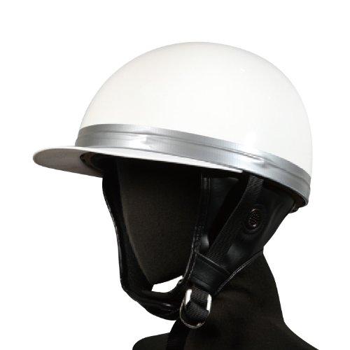 バイクパーツセンター(Bike Parts Center) バイクヘルメット コルクタイプ ホワイト700103 FREE B003VQHDZU 1枚目