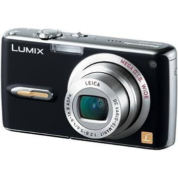 パナソニック デジタルカメラ LUMIX FX07 エクストラブラック DMC-FX07-K