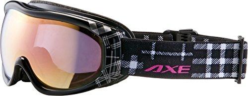 AXE(アックス) レディース スキー・スノーボード ゴーグル AX600-WCM ブラック(BK)