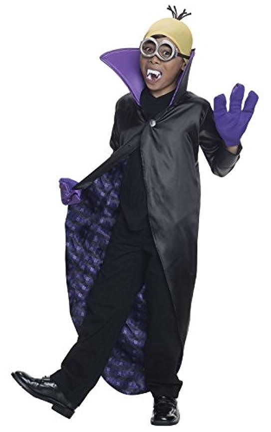 韓国語フラフープグラムMinions Movie: Dracula Minion Child Costume 手下映画:ドラキュラミニオンチャイルドコスチューム?ハロウィン?サイズ:Medium (8-10)