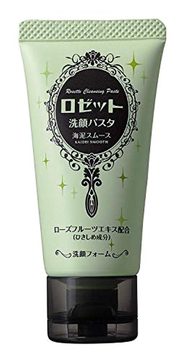 アルカイック掃く急ぐロゼット 洗顔パスタ海泥スムースミニ 30g