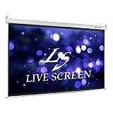 LIVE SCREEN 16:9 100インチ 電動格納 プロジェクタースクリーン