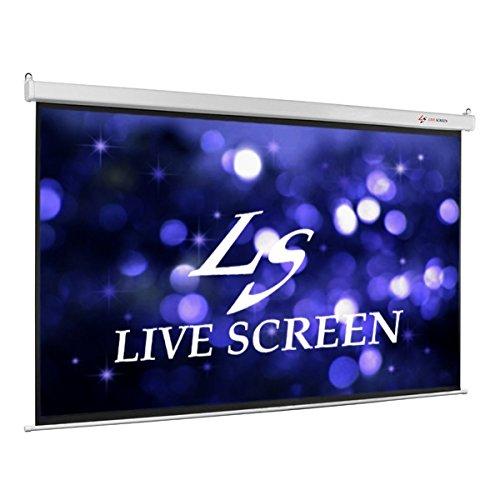 LIVE SCREEN 電動格納 プロジェクタースクリーン B00SIR3T1Y 1枚目