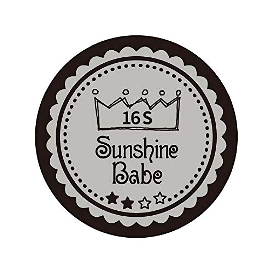 実験をする物理ブリークSunshine Babe コスメティックカラー 16S ハーバーミスト 4g UV/LED対応