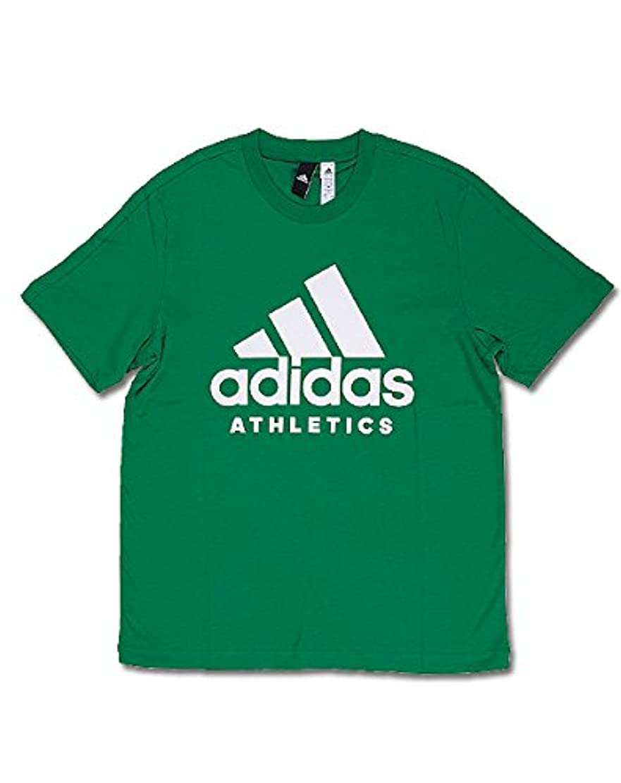 奨励検証経営者ADIDAS アディダス M SPORT ID ATHLETICS ロゴ Tシャツ BR4749/CF9561