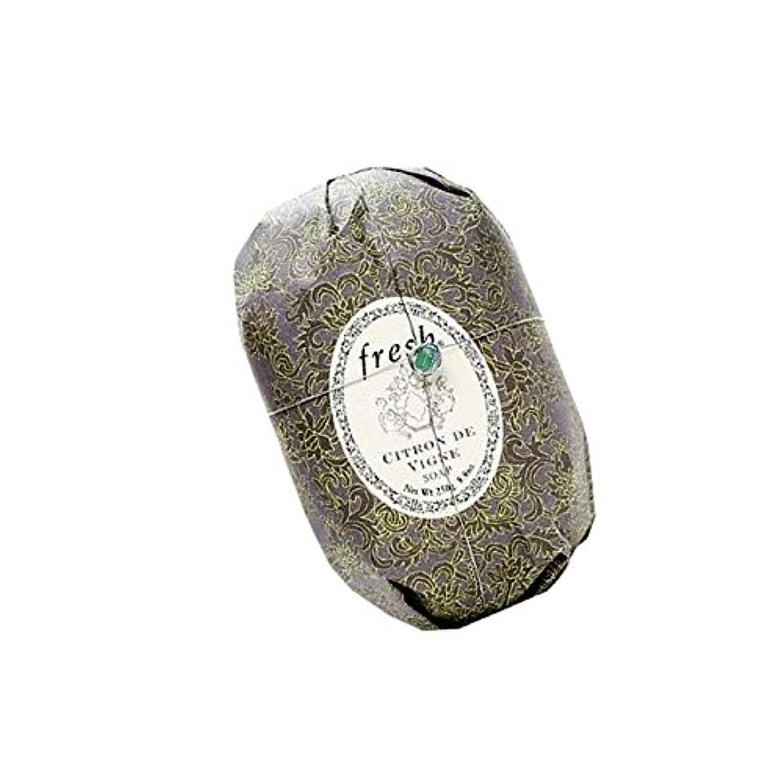横向き本物の一見Fresh フレッシュ Citron de Vigne Soap 石鹸, 250g/8.8oz. [海外直送品] [並行輸入品]