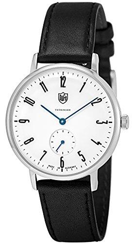[ドゥッファ] 腕時計 Gropius ホワイト文字盤 DF-9001-03 正規輸入品 ブラック