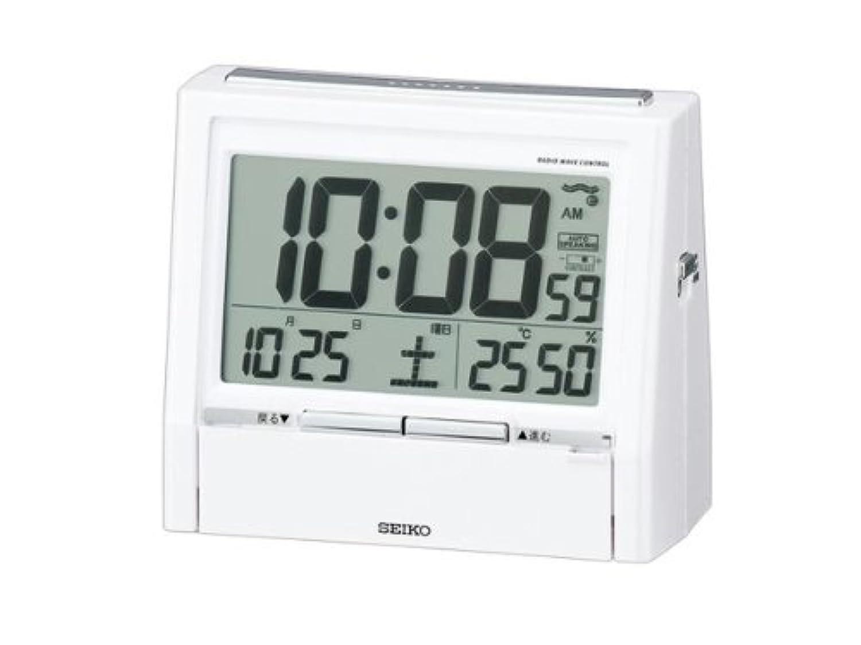 セイコー SEIKO 電波時計 音声目覚まし時計 DA206W インテリア 時計 目覚まし時計 mirai1-279741-ak [並行輸入品] [簡易パッケージ品]