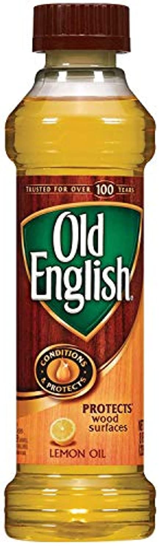 トリプル聖なる注釈Old English Lemon Oil 236 ML / 8 Fl. オンス - 6個