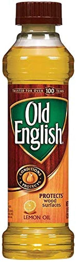 ふりをする暖かく墓Old English Lemon Oil 236 ML / 8 Fl. オンス - 6個