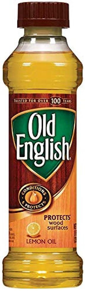 Old English Lemon Oil 236 ML / 8 Fl. オンス - 6個