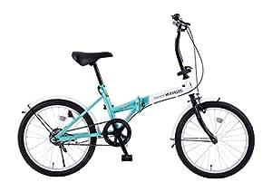 My Pallas(マイパラス) My Pallas(マイパラス) 折りたたみ自転車 20インチ カラー/ホワイト・ミント M-250
