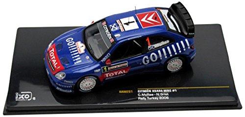 イクソ シトロエン クサラ WRC ナイトライトなし 06 ラリー・オブ・ターキー #1 C.マクレー (1/43 RAM251)