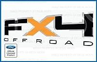フォードf150fx4オフロードデカールTruckステッカーオレンジ( 2009–2011)–FO