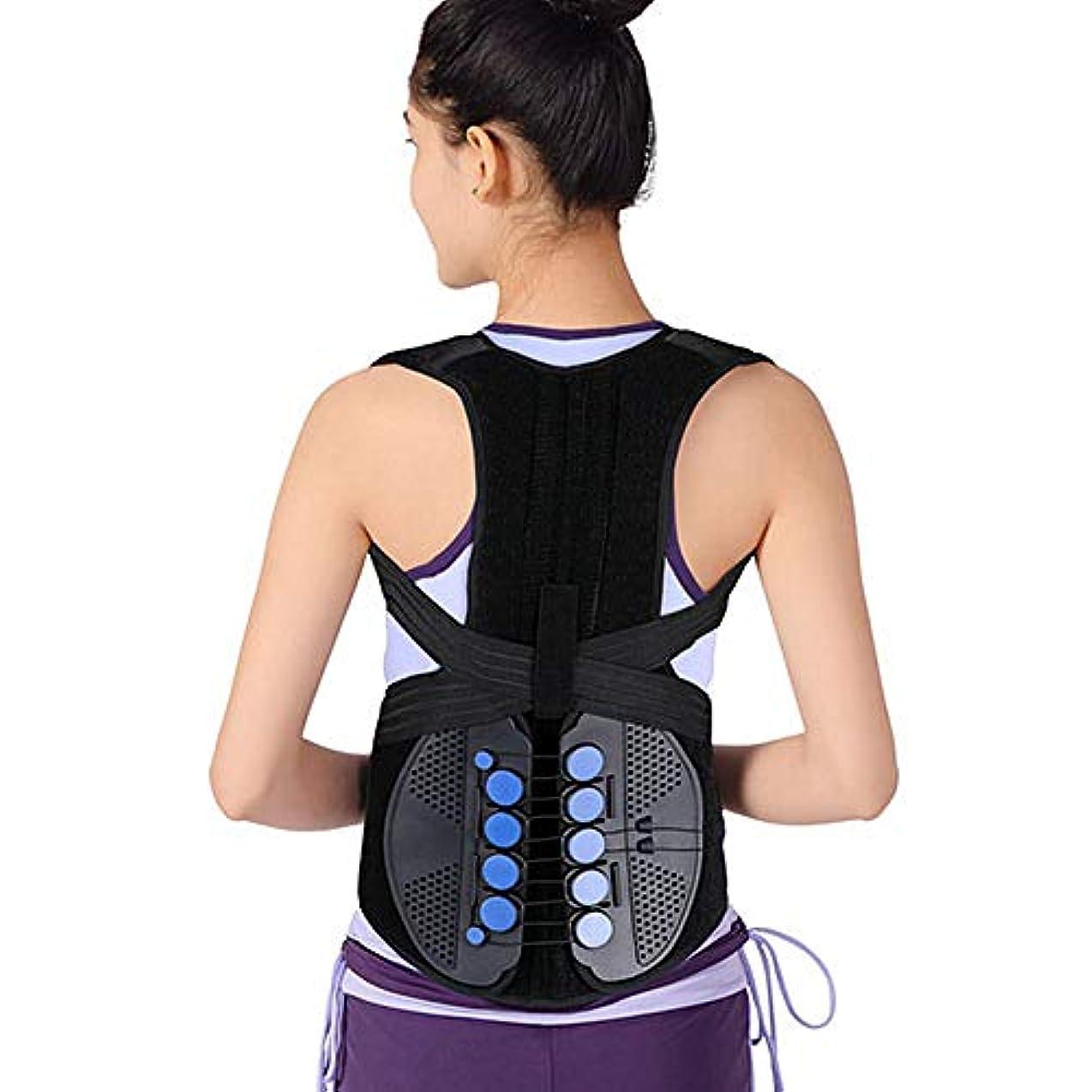 LINGYAO 背部アライナー調節可能な滑車通気性の快適さの緩和の痛みの姿勢の支柱が付いている省力化の訂正