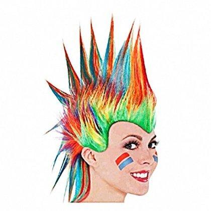 Rainbow Mohawk Wig おもちゃ [並行輸入品]