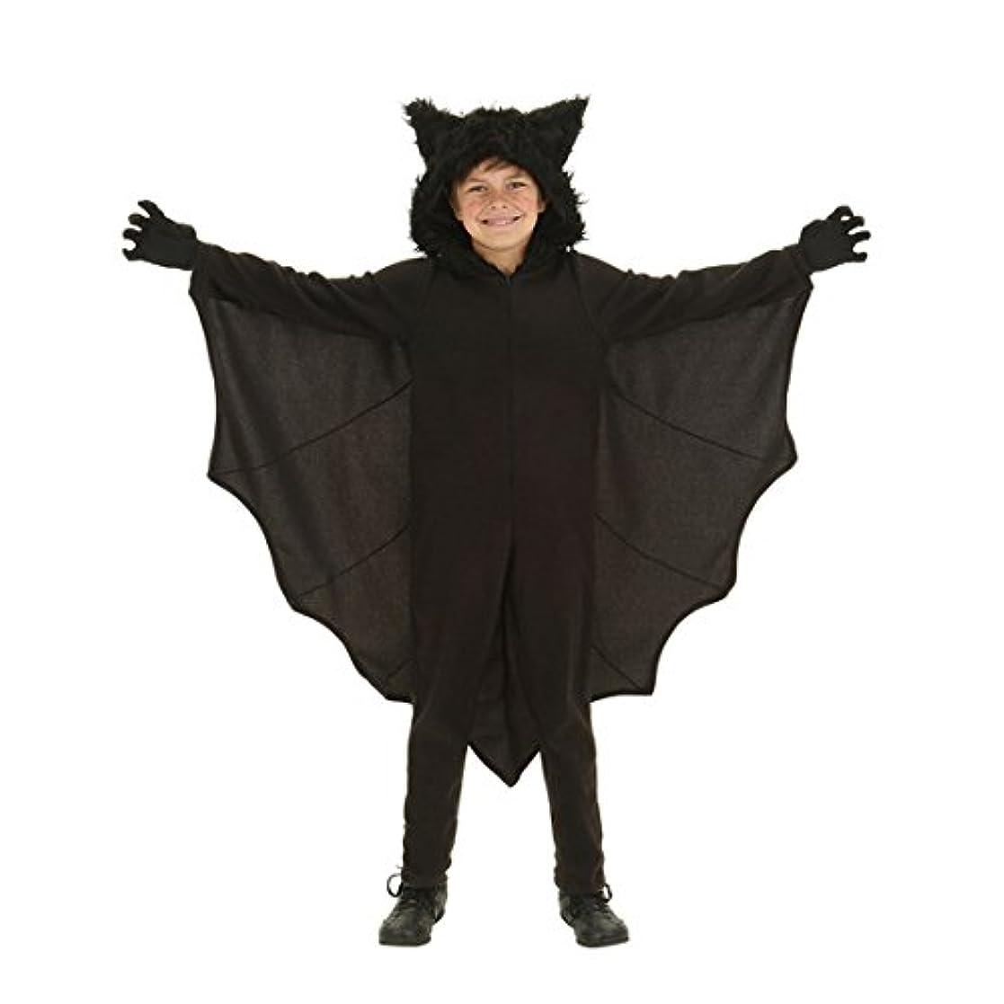 仮装フェンスまた明日ねcnstone ハロウィン 衣装 子供 男の子 悪魔 小悪魔 ハロウィーン 仮装 コスプレ コスチューム 子供 こうもり コウモリ ヴァンパイア ドラキュラ コスプレ 子供用 蝙蝠変装 (L)