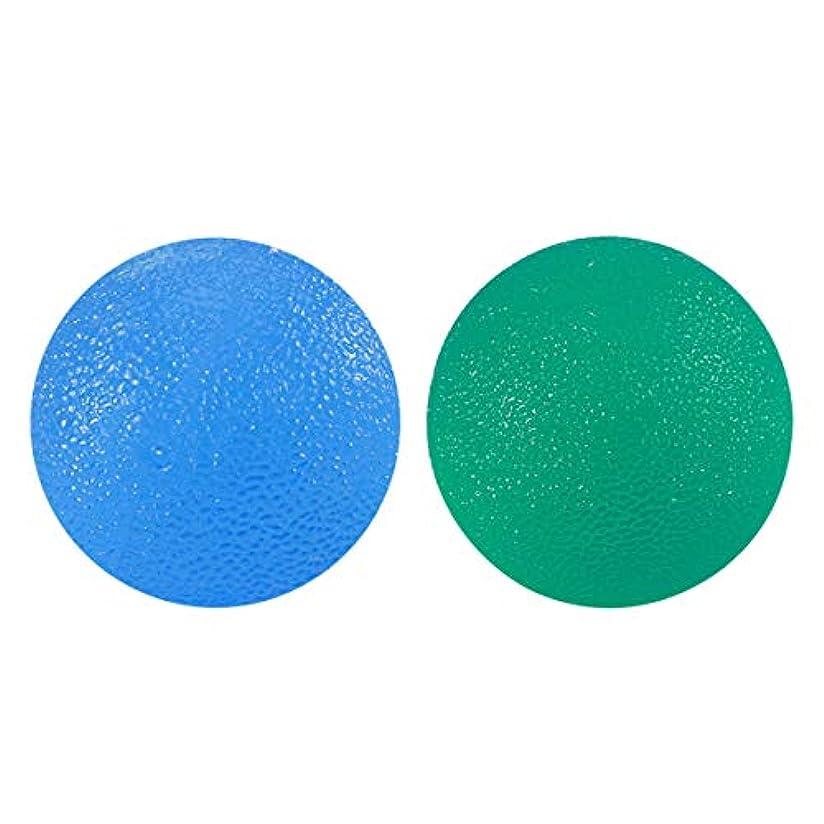 贈り物情熱的解決ROSENICE フィンガーセラピーボールエクササイズボールハンドリハビリトレインボール2個