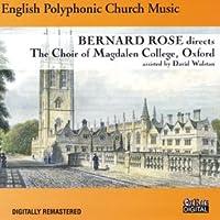 English Polyphonic Church Music