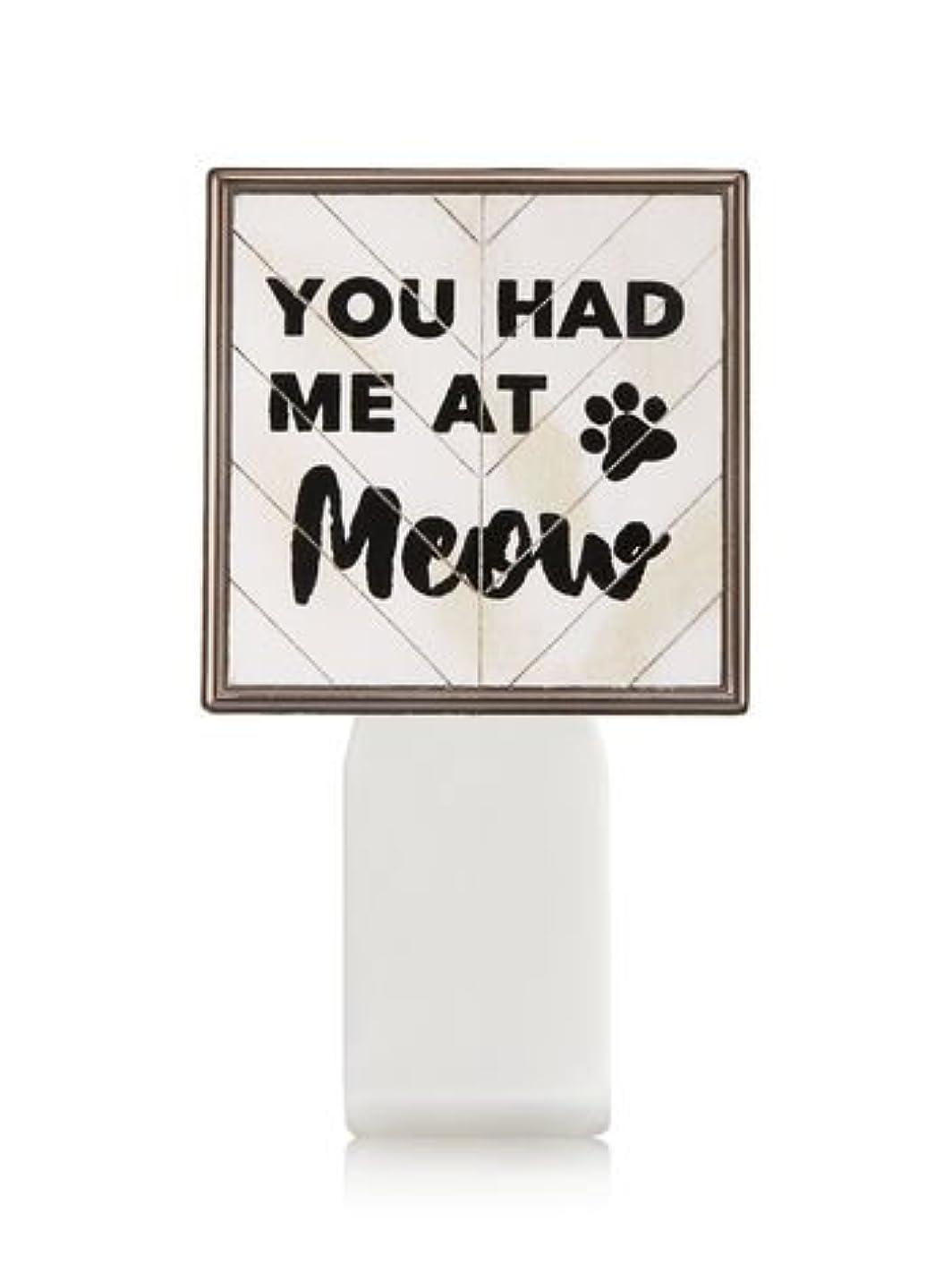 アーチ規定対抗【Bath&Body Works/バス&ボディワークス】 ルームフレグランス プラグインスターター (本体のみ) キャット シールド Wallflowers Fragrance Plug You Had Me At Meow...