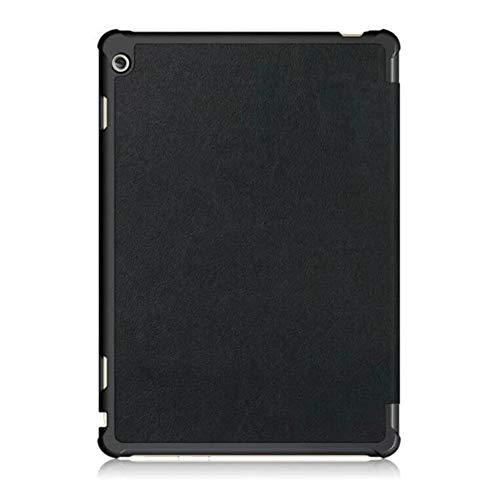 『Huawei MediaPad M3 Lite 10 wp ケース TopACE docomo dtab d-01K 超薄型 スマートケース スタンド機能付き 高級PU レザーケース Huawei 10.1インチ MediaPad M3 Lite 10 wp タブレット対応 (ブラック)』の5枚目の画像