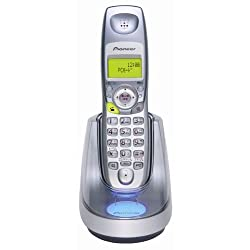 Pioneer Skype連携アプリケーション付きUSB/一般回線デュアルモードコードレス電話機 シルバー TF-FS55M-S