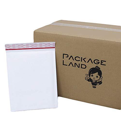 【パッケージランド】 A5/CD クッション封筒(白) 50枚 180×220+40mm