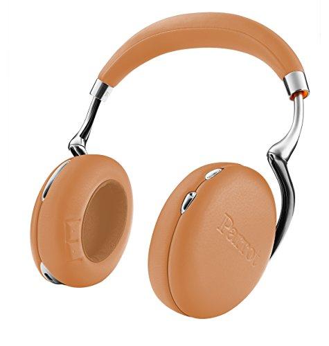 Parrot Zik 3 密閉型 ワイヤレスヘッドホン ノイズキャンセリング Bluetooth NFC Qiワイヤレス充電 Apple Watch対応 Brown Grain PF562037 国内正規品