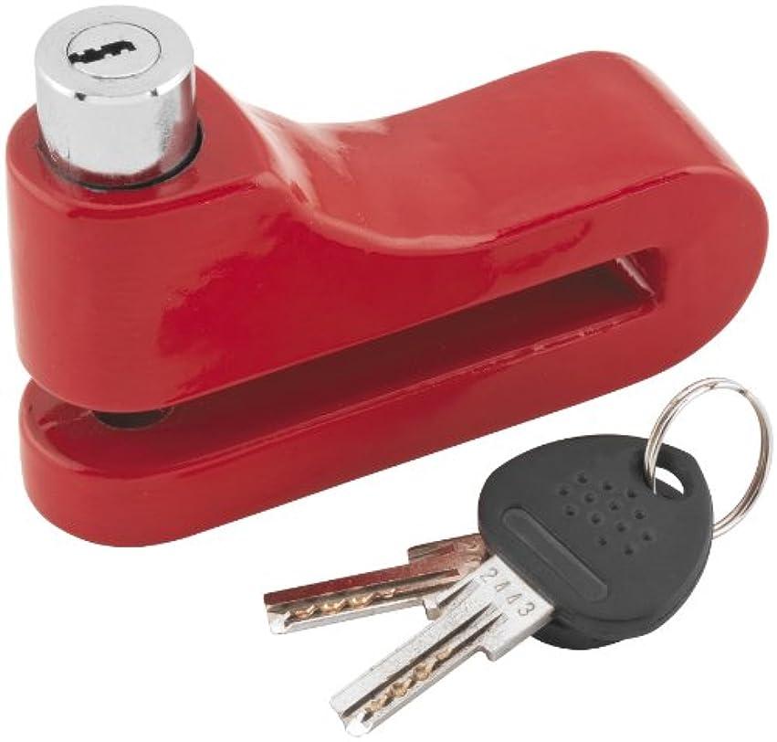 ランチミッションタンザニアBully Locks 10mm Disc Lock Red 1581L-RD by Bully Locks
