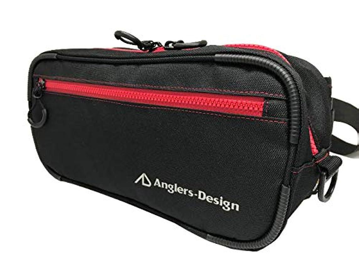 悲しむ意味小競り合いアングラーズデザイン(Anglers Design) ADB-36 RSバッグII レッドステッチ.