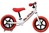 子供用自転車 バランスバイク Bb★STAR ペダルなし自転車 ランニングバイク トレーニングバイク キッズバイク おもちゃ 乗用玩具 子供 幼児 子供自転車 プレゼントに最適 BB★STAR (レッド)
