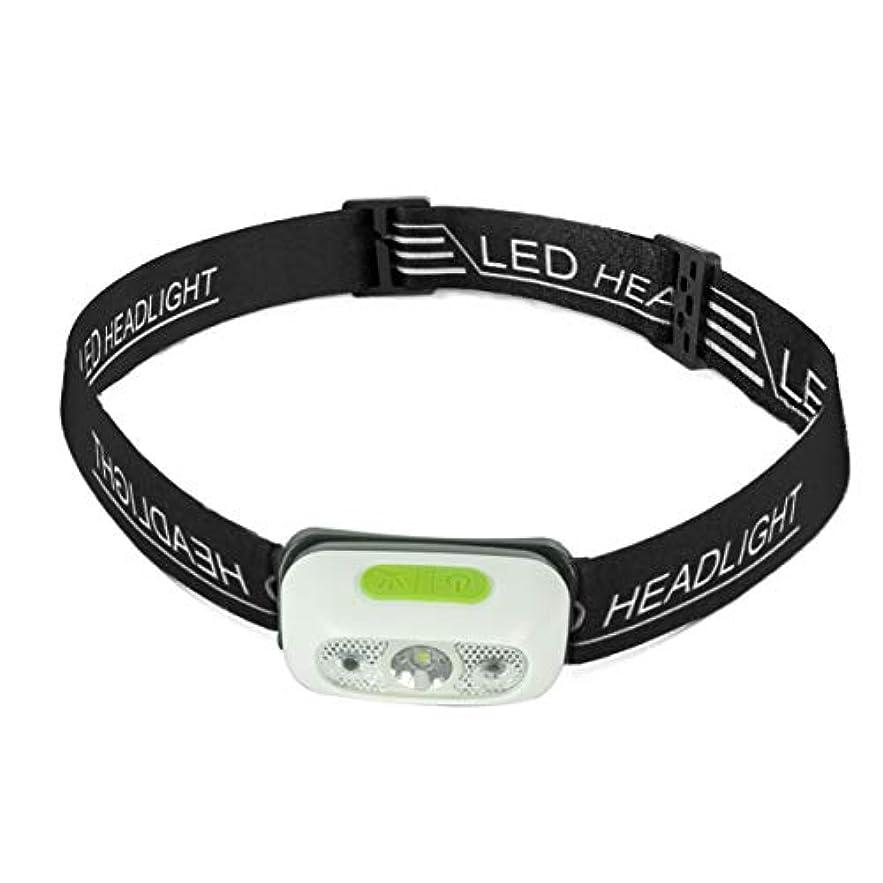 価格エクステントスカープLEDヘッドライト USB充電式 CREE高輝度 IPX6防水 小型軽量ヘッドランプ 5つの点灯モード センサー機能 角度調節可能 登山?アウトドア?作業?防災?釣り
