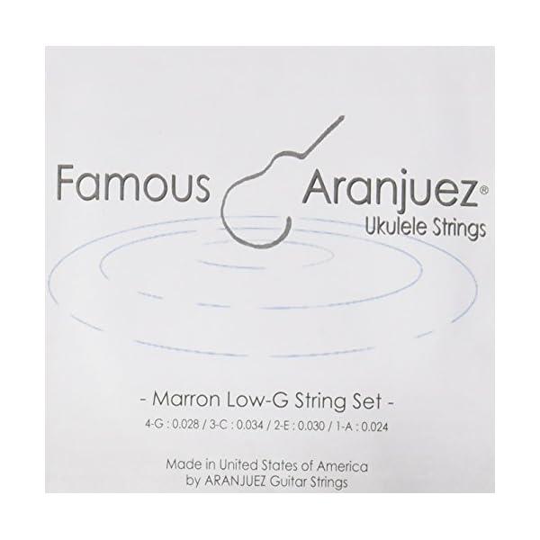 【Famous】 ウクレレ用 マロン弦セット L...の商品画像