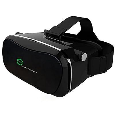 Urgod 3D VR ゴーグル ヘッドセット•メガネ/VR BOX (iphone&android全ての