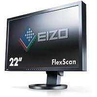 EIZO FlexScan 22インチ TFTモニタ 1900x1200 D-Sub15Pin DVI-D24Pin DisplayPort スピーカー付 ブラック S2243W-HXBK
