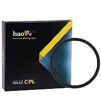 Haoge 43mm MC CPLマルチコートCircular Polarizer偏光レンズフィルタfor Canon Nikon Sony Minolta Pentax Olympus Panasonic Leica Zeiss TAMRONデジタルカメラDSLRレンズ