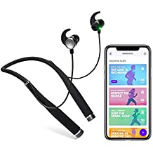 Vi Sense Wireless Headphones with on-Demand AI Personal Trainer. Vi's Human-Sounding Voice Coaches You in Realtime Using a Built-in Fitness Tracker and Heart Rate Monitor