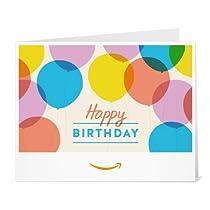 Amazonギフト券- 印刷タイプ(PDF) - 誕生日(バルーン)