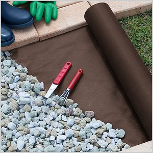GARDEN PROTECT (ガーデンプロテクト) 防草シート 50cm×10m ブラウン B016JNUSNK 1枚目